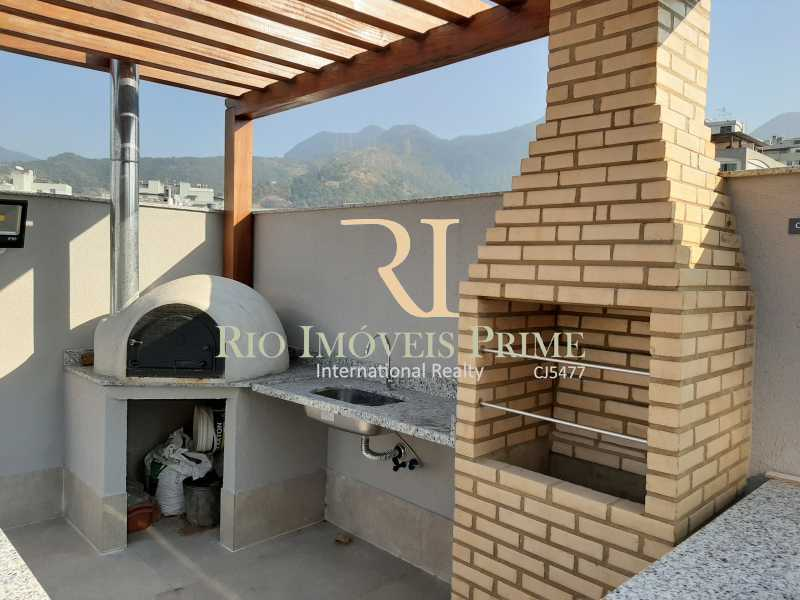 CHURRASQUEIRA E FORNO À GÁS - Fachada - Upper Smart Residences  - 140 - 3