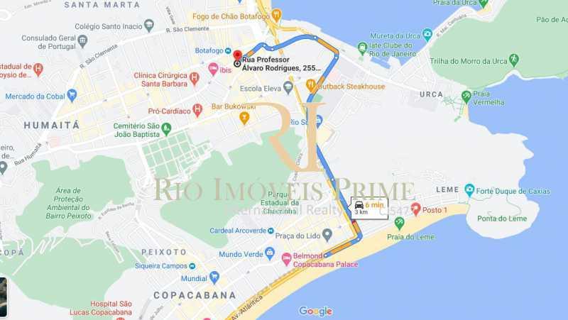 DISTANCIA PRAIA COPACABANA - Fachada - Omni I Residence Service - 148 - 14