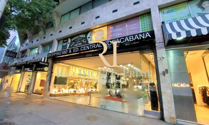 ENTRADA  - Fachada - Shopping 680 & Edifício Central Copacabana - 168 - 1