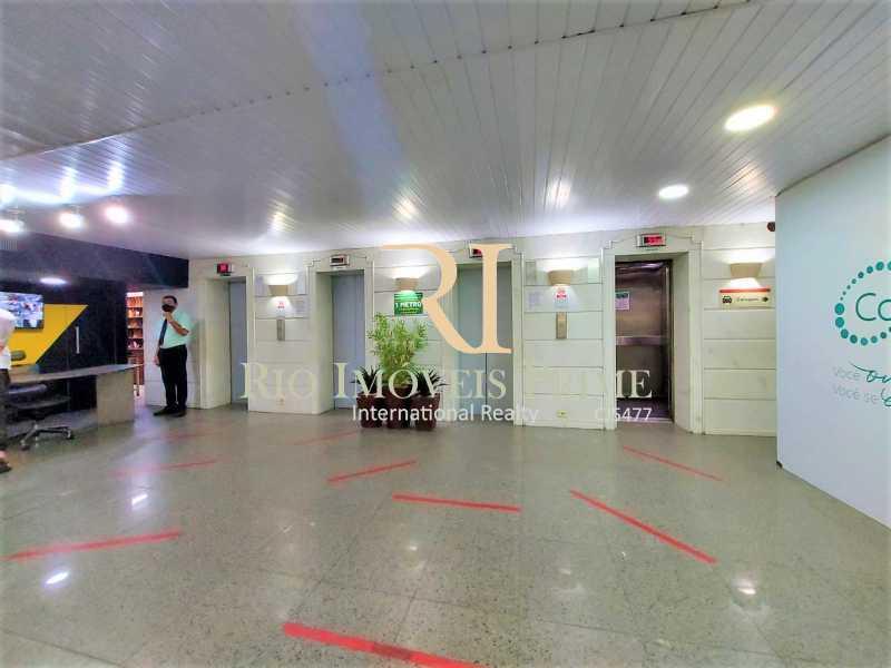 HALL ELEVADORES - Fachada - Shopping 680 & Edifício Central Copacabana - 168 - 3