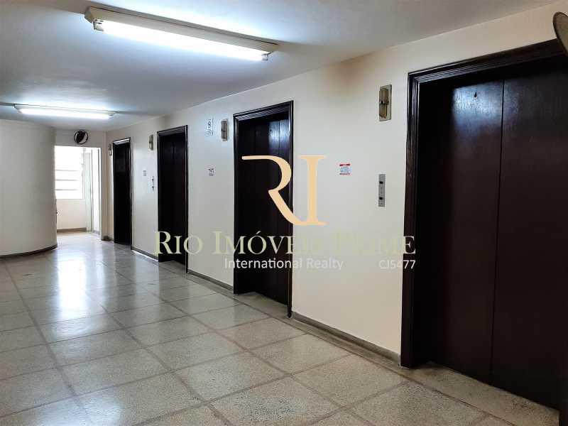 HALL ELEVADORES - Fachada - Condomínio do Edifício Delamare - 169 - 2
