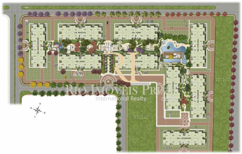 46 MASTERPLAN - Fachada - Barra Village House and Life - 28 - 17