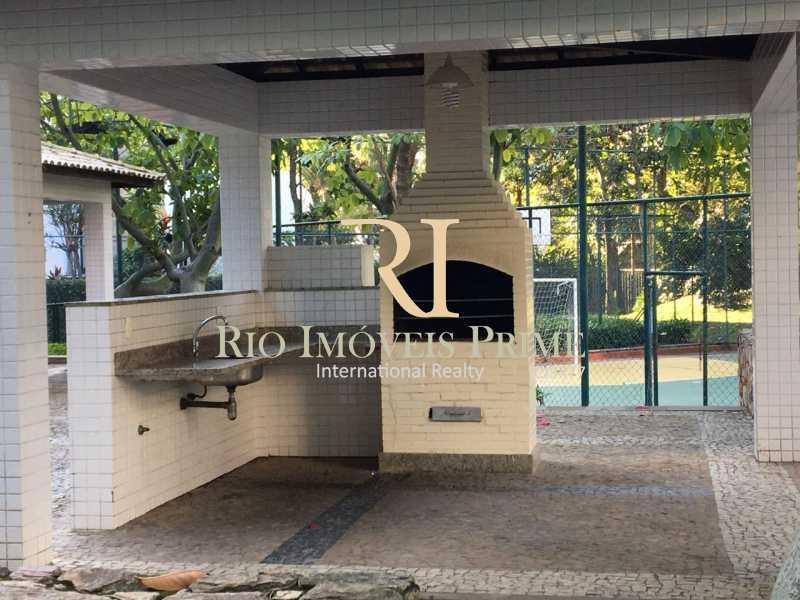 CHURRASQUEIRA. - Fachada - Paradiso Residence e Service - 45 - 5