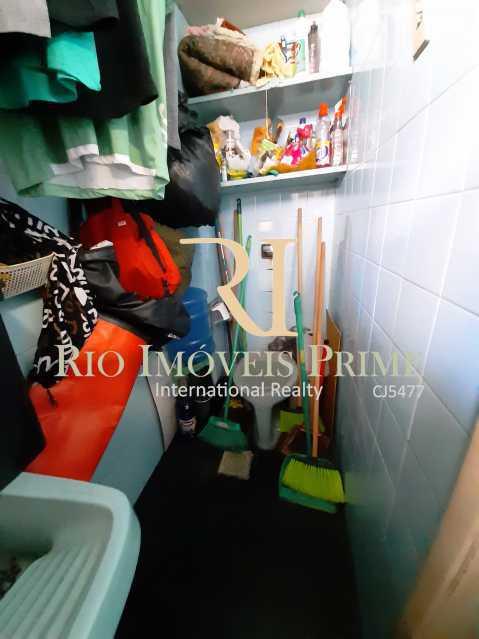 ÁREA SERVIÇO E WC - Apartamento à venda Rua São Francisco Xavier,Tijuca, Rio de Janeiro - R$ 549.900 - RPAP30013 - 19