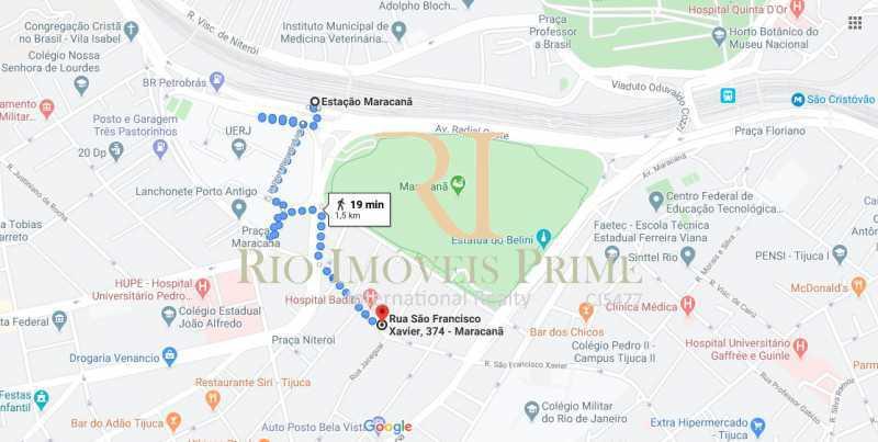 DISTANCIA METRO MARACANÂ - Apartamento à venda Rua São Francisco Xavier,Tijuca, Rio de Janeiro - R$ 549.900 - RPAP30013 - 20