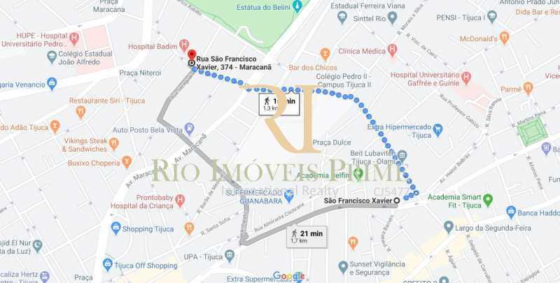 METRO S F XAVIER - Apartamento à venda Rua São Francisco Xavier,Tijuca, Rio de Janeiro - R$ 549.900 - RPAP30013 - 21