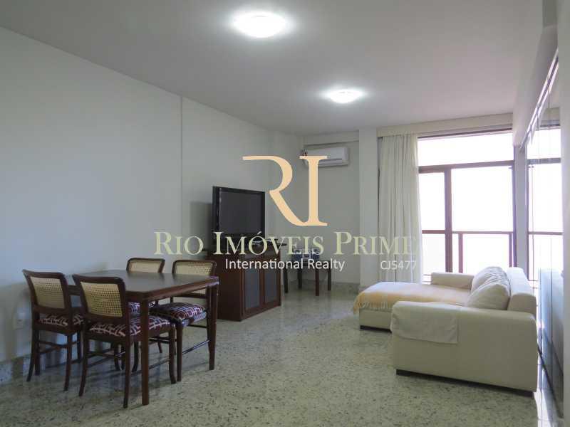 1 SALA - Flat 1 quarto à venda Leblon, Rio de Janeiro - R$ 1.900.000 - RPFL10034 - 1