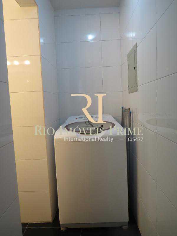 14 ÁREA SERVIÇO - Flat 1 quarto à venda Leblon, Rio de Janeiro - R$ 1.900.000 - RPFL10034 - 15