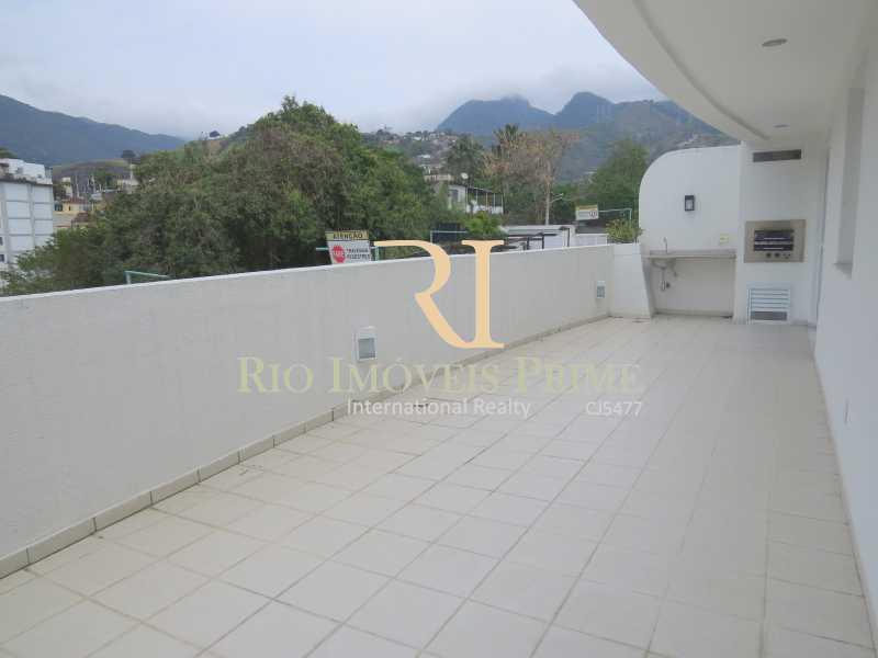 VARANDÃO - Apartamento 3 quartos para alugar Tijuca, Rio de Janeiro - R$ 2.900 - RPAP30026 - 3