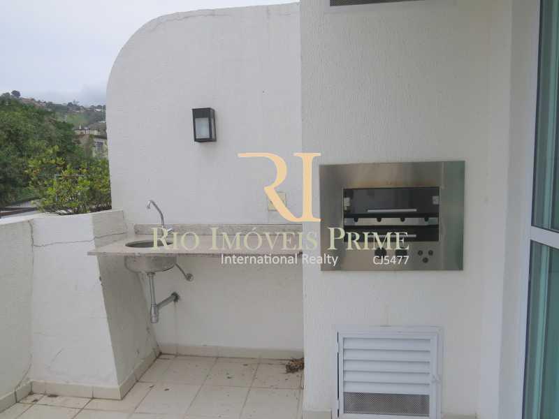 CHURRASQUEIRA - Apartamento 3 quartos para alugar Tijuca, Rio de Janeiro - R$ 2.900 - RPAP30026 - 5