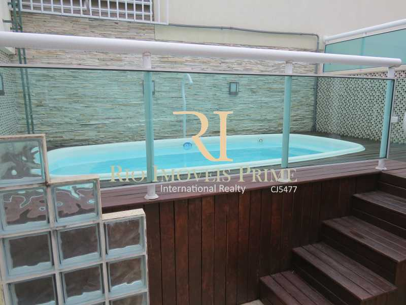 1 PISCINA COM DECK - Cobertura 3 quartos à venda Grajaú, Rio de Janeiro - R$ 949.999 - RPCO30006 - 1