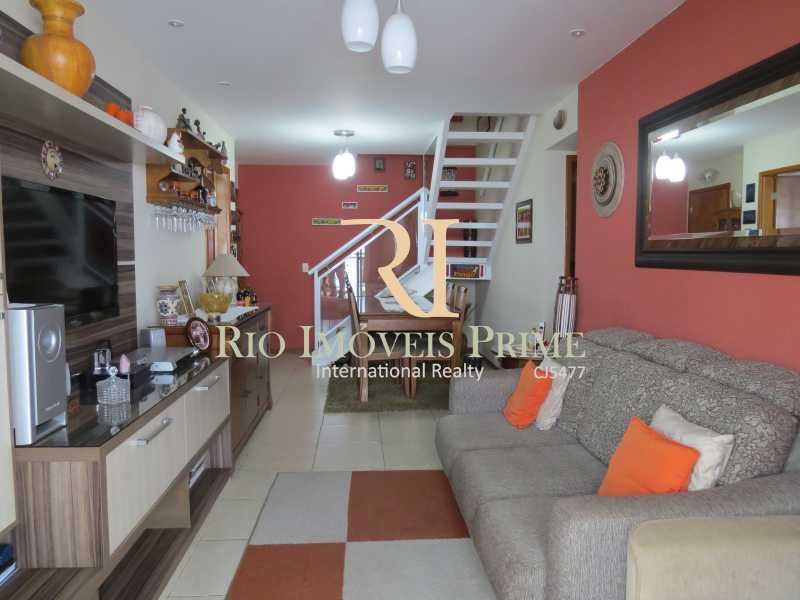 3 SALAS - Cobertura 3 quartos à venda Grajaú, Rio de Janeiro - R$ 949.999 - RPCO30006 - 4
