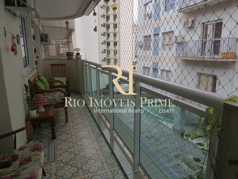4 VARANDA - Cobertura 3 quartos à venda Grajaú, Rio de Janeiro - R$ 949.999 - RPCO30006 - 5