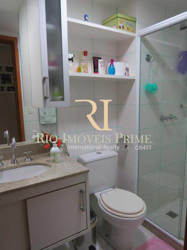 8 BANHEIRO SOCIAL PISO1 - Cobertura 3 quartos à venda Grajaú, Rio de Janeiro - R$ 949.999 - RPCO30006 - 9