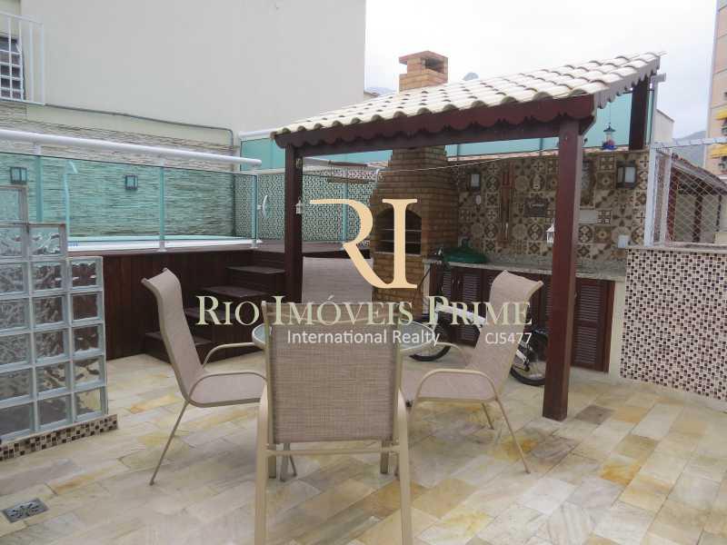 12 TERRAÇO COM CHURRASQUEIRA - Cobertura 3 quartos à venda Grajaú, Rio de Janeiro - R$ 949.999 - RPCO30006 - 13