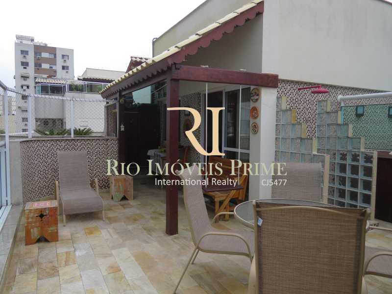 TERRAÇO - Cobertura 3 quartos à venda Grajaú, Rio de Janeiro - R$ 949.999 - RPCO30006 - 28