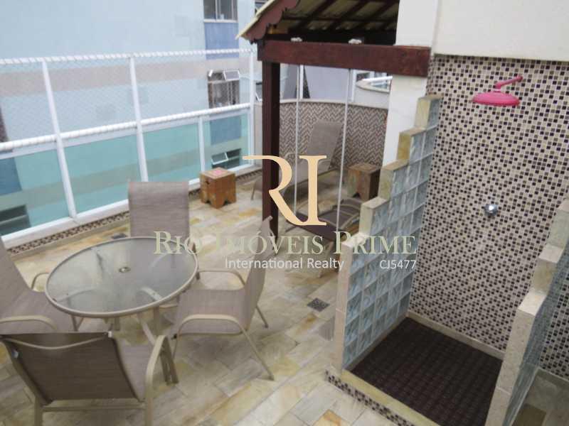 TERRAÇO - DUCHA - Cobertura 3 quartos à venda Grajaú, Rio de Janeiro - R$ 949.999 - RPCO30006 - 29