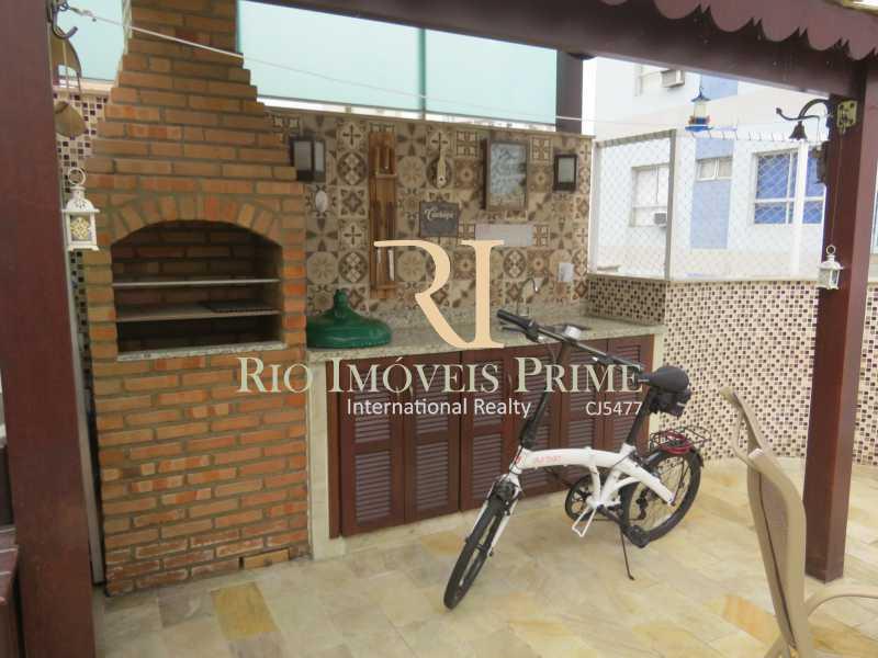 CHURRASQUEIRA - Cobertura 3 quartos à venda Grajaú, Rio de Janeiro - R$ 949.999 - RPCO30006 - 30