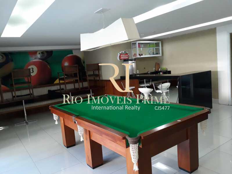 SALÃO JOGOS - Cobertura 3 quartos à venda Grajaú, Rio de Janeiro - R$ 949.999 - RPCO30006 - 24