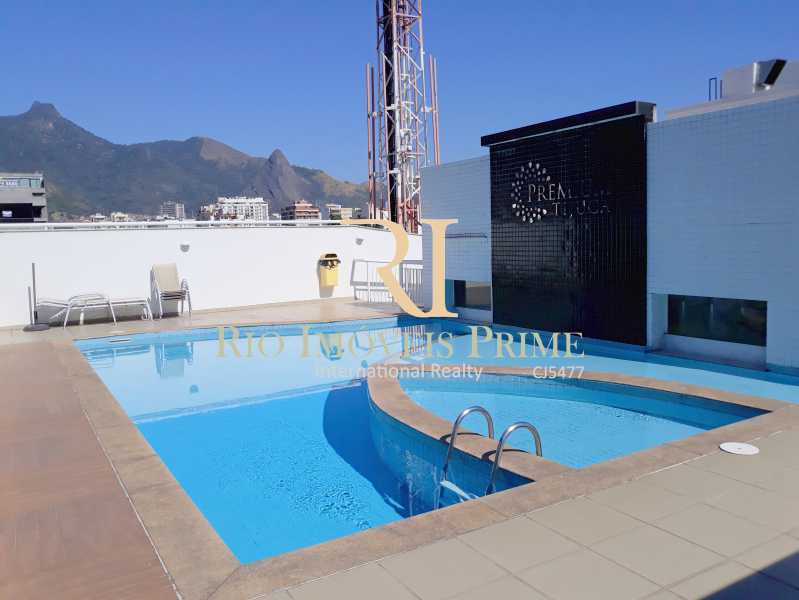 PISCINA - Apartamento 2 quartos para alugar Tijuca, Rio de Janeiro - R$ 2.200 - RPAP20044 - 1