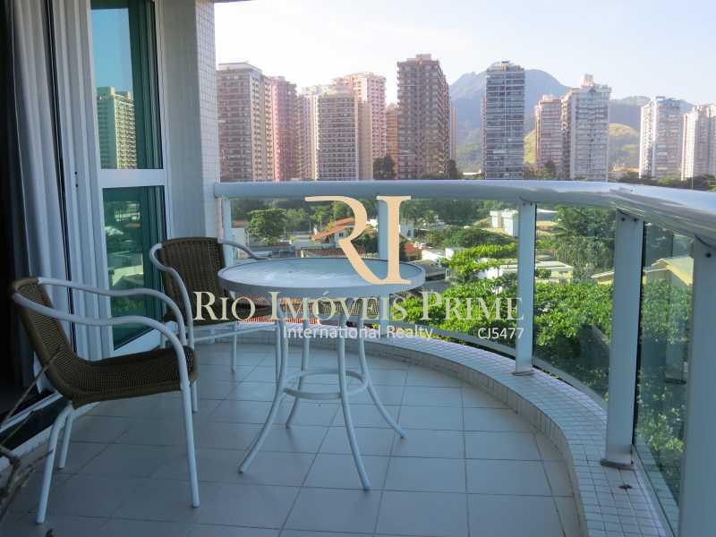 VARANDA - Flat Para Alugar - Barra da Tijuca - Rio de Janeiro - RJ - RPFL10043 - 14