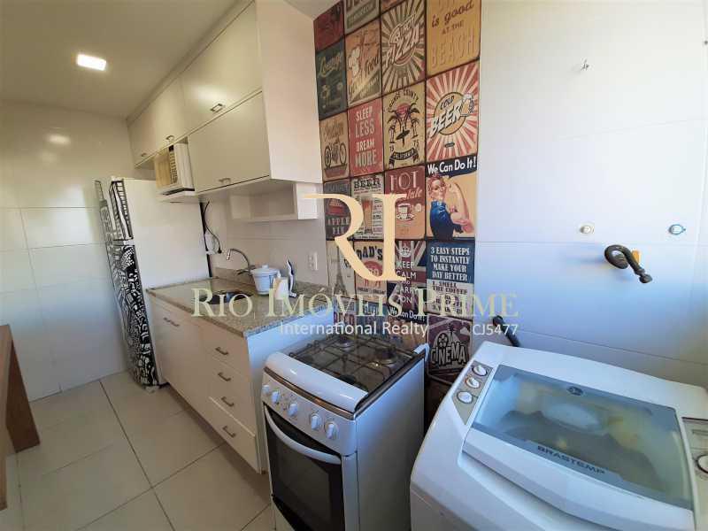 COZINHA AMERICANA - Apartamento 2 quartos à venda Barra da Tijuca, Rio de Janeiro - R$ 469.900 - RPAP20052 - 6