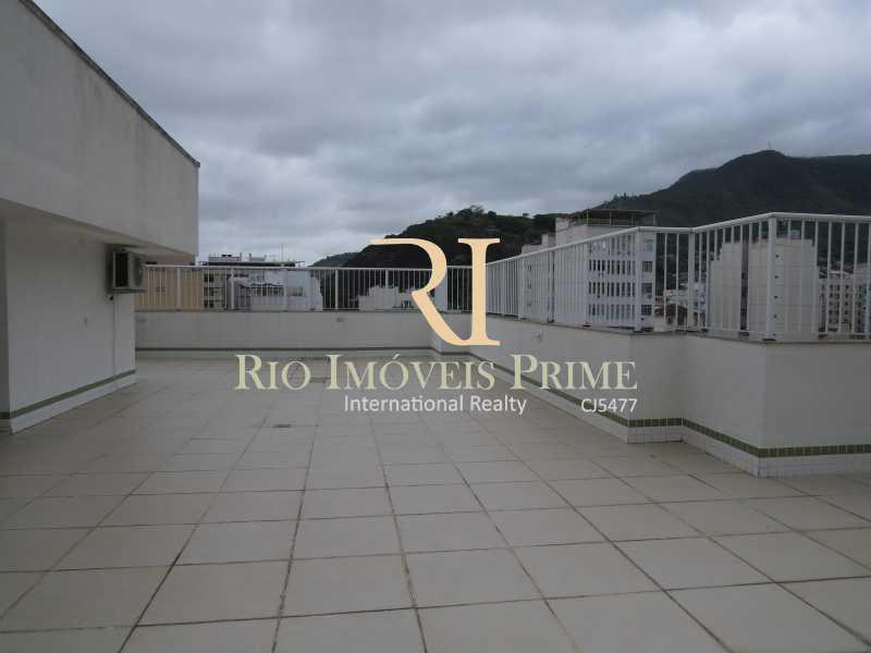 TERRAÇO ÁREA LAZER - Apartamento 2 quartos à venda Tijuca, Rio de Janeiro - R$ 590.000 - RPAP20054 - 22