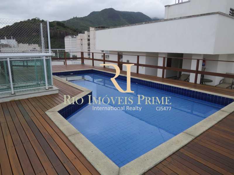 PISCINA CONDOMÍNIO - Apartamento 2 quartos à venda Tijuca, Rio de Janeiro - R$ 590.000 - RPAP20054 - 21