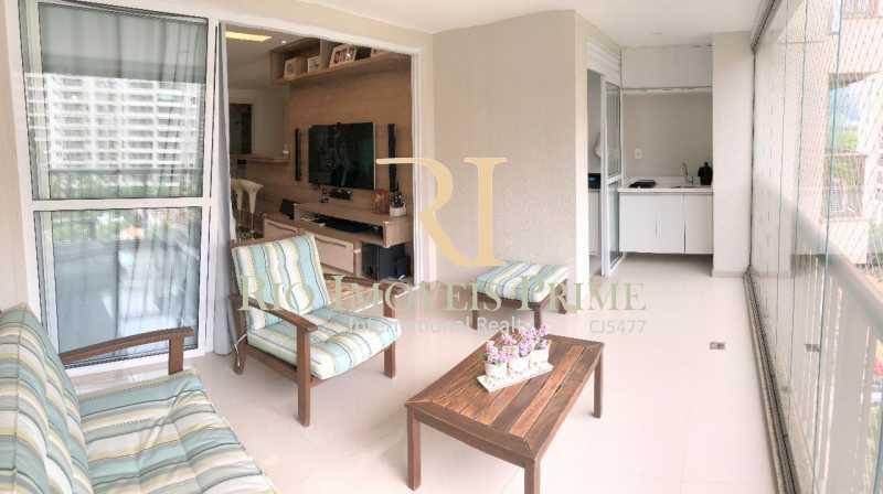 VARANDA - Apartamento À Venda - Barra Olímpica - Rio de Janeiro - RJ - RPAP20060 - 1