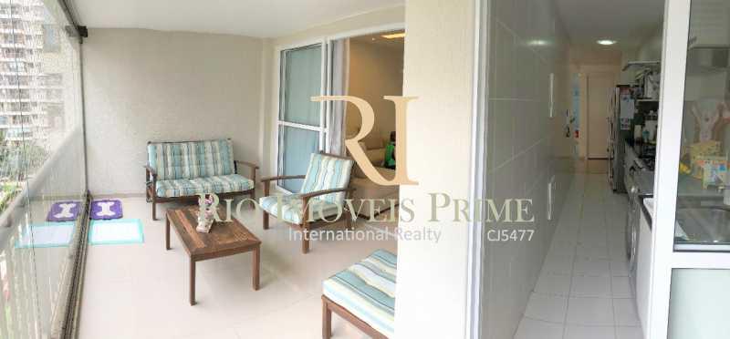 VARANDA - Apartamento À Venda - Barra Olímpica - Rio de Janeiro - RJ - RPAP20060 - 3