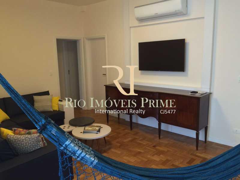 SALA ESTAR - Apartamento para alugar Rua das Laranjeiras,Laranjeiras, Rio de Janeiro - R$ 4.800 - RPAP30045 - 5