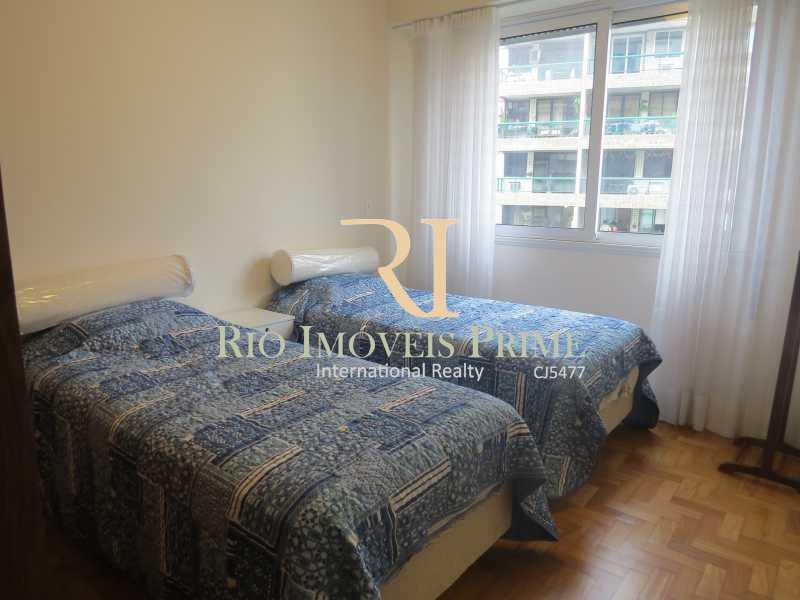 QUARTO1 - Apartamento para alugar Rua das Laranjeiras,Laranjeiras, Rio de Janeiro - R$ 4.800 - RPAP30045 - 7