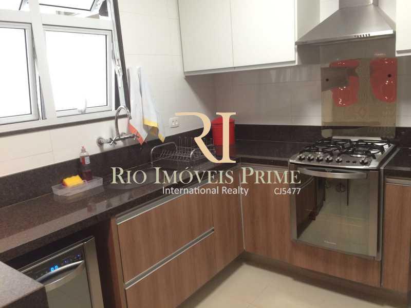 COPA COZINHA - Apartamento para alugar Rua das Laranjeiras,Laranjeiras, Rio de Janeiro - R$ 4.800 - RPAP30045 - 15