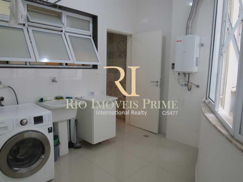 ÁREA SERVIÇO - Apartamento para alugar Rua das Laranjeiras,Laranjeiras, Rio de Janeiro - R$ 4.800 - RPAP30045 - 18