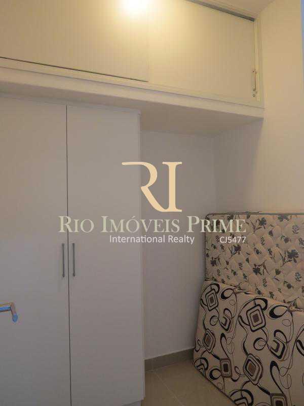 QUARTO SERVIÇO - Apartamento para alugar Rua das Laranjeiras,Laranjeiras, Rio de Janeiro - R$ 4.800 - RPAP30045 - 19