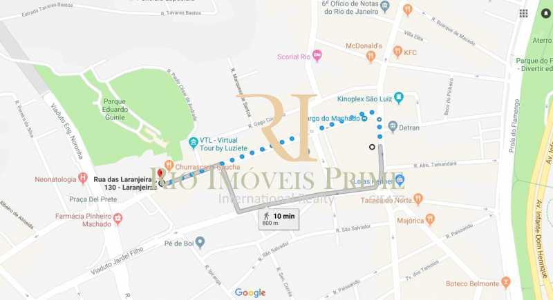 DISTÂNCIA METRÔ - Apartamento para alugar Rua das Laranjeiras,Laranjeiras, Rio de Janeiro - R$ 4.800 - RPAP30045 - 21