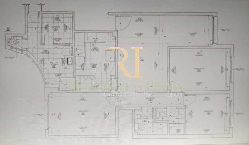 PLANTA BAIXA - Apartamento para alugar Rua das Laranjeiras,Laranjeiras, Rio de Janeiro - R$ 4.800 - RPAP30045 - 24