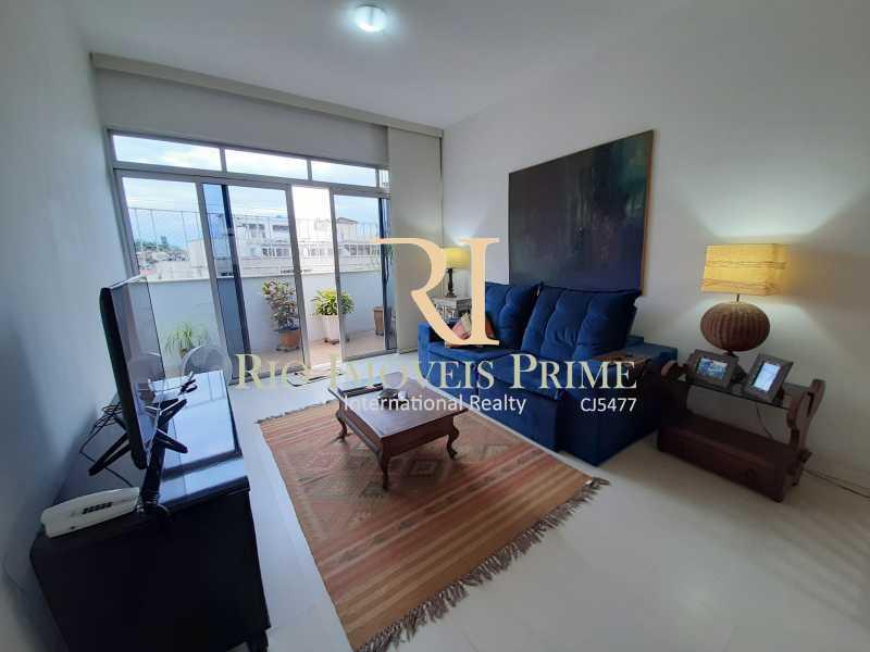 SALA ESTAR - Cobertura à venda Rua Uruguai,Tijuca, Rio de Janeiro - R$ 793.000 - RPCO30001 - 4