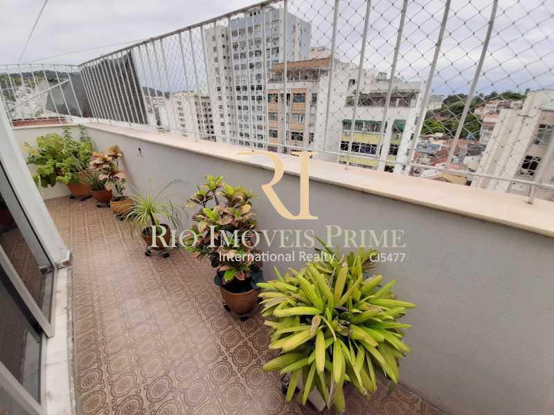 VARANDA - Cobertura à venda Rua Uruguai,Tijuca, Rio de Janeiro - R$ 793.000 - RPCO30001 - 5