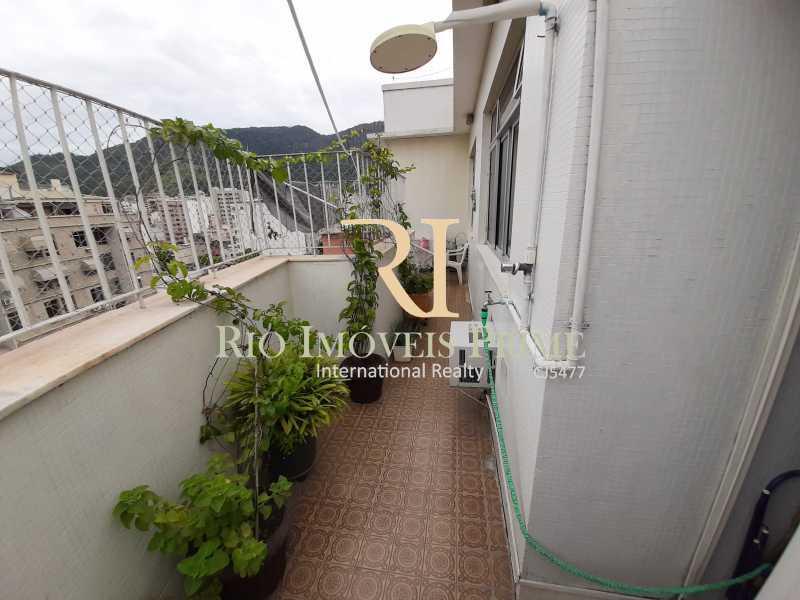 VARANDA - Cobertura à venda Rua Uruguai,Tijuca, Rio de Janeiro - R$ 793.000 - RPCO30001 - 8