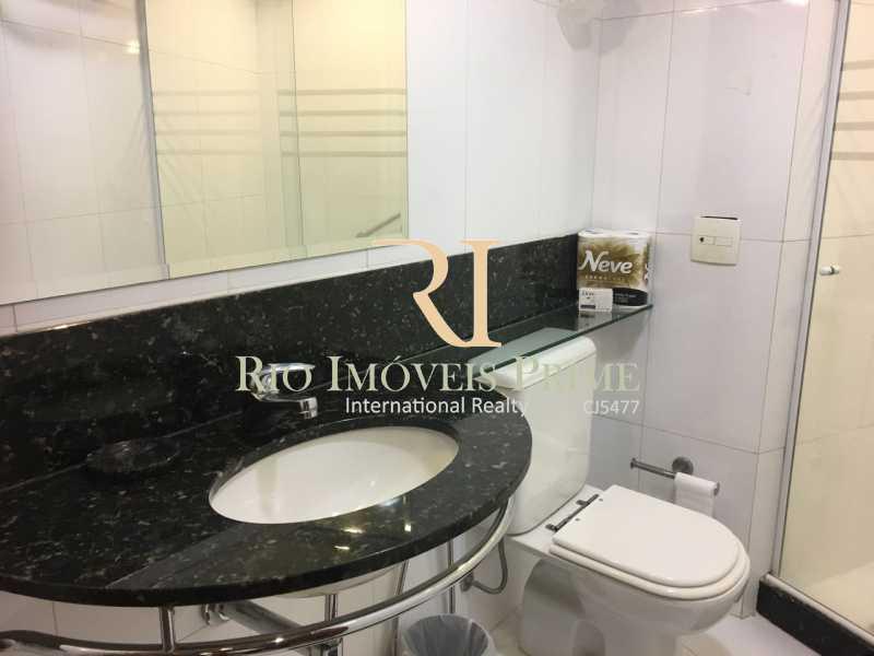 BANHEIRO COM BLINDEX - Flat Para Venda e Aluguel - Barra da Tijuca - Rio de Janeiro - RJ - RPFL10001 - 6