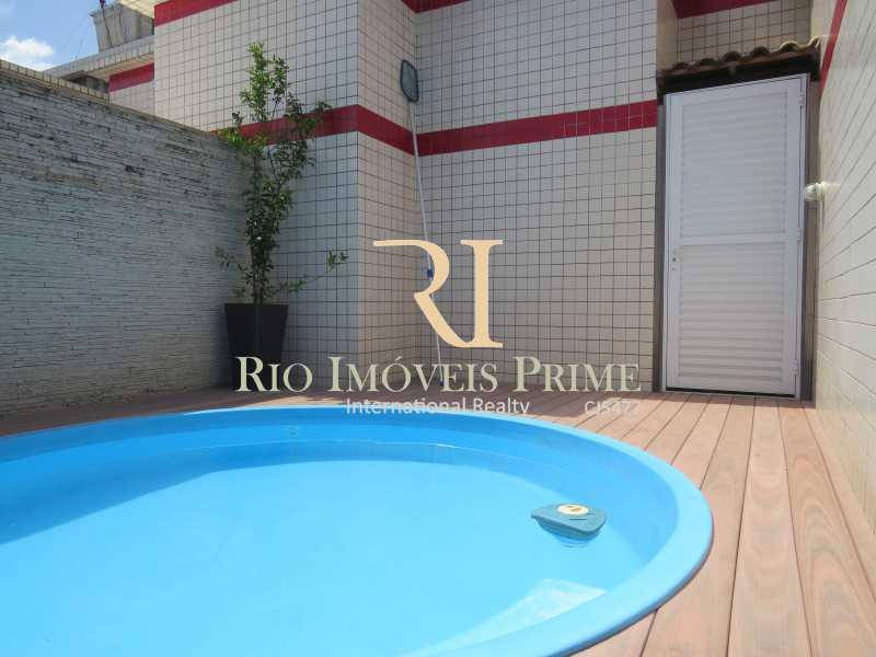 PISCINA TERRAÇO - Cobertura 3 quartos à venda Tijuca, Rio de Janeiro - R$ 1.199.900 - RPCO30011 - 19