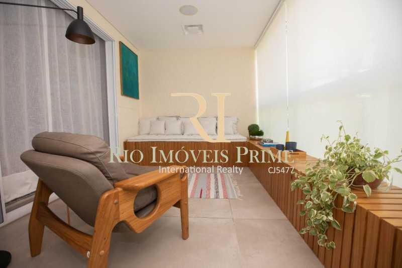 VARANDA. - Apartamento À Venda - Barra da Tijuca - Rio de Janeiro - RJ - RPAP40014 - 3