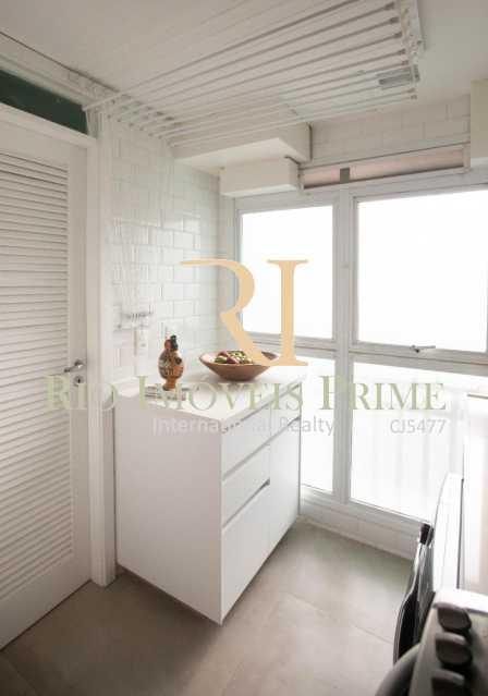 ÁREA SERVIÇO. - Apartamento À Venda - Barra da Tijuca - Rio de Janeiro - RJ - RPAP40014 - 8