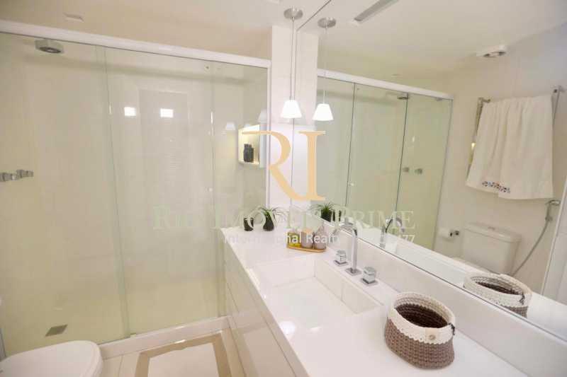 BANHEIRO SUÍTE MASTER - Apartamento À Venda - Barra da Tijuca - Rio de Janeiro - RJ - RPAP40014 - 11