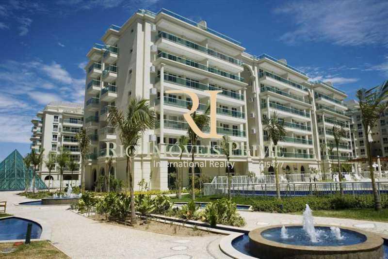 LE PARC - FACHADA - Apartamento À Venda - Barra da Tijuca - Rio de Janeiro - RJ - RPAP40014 - 23