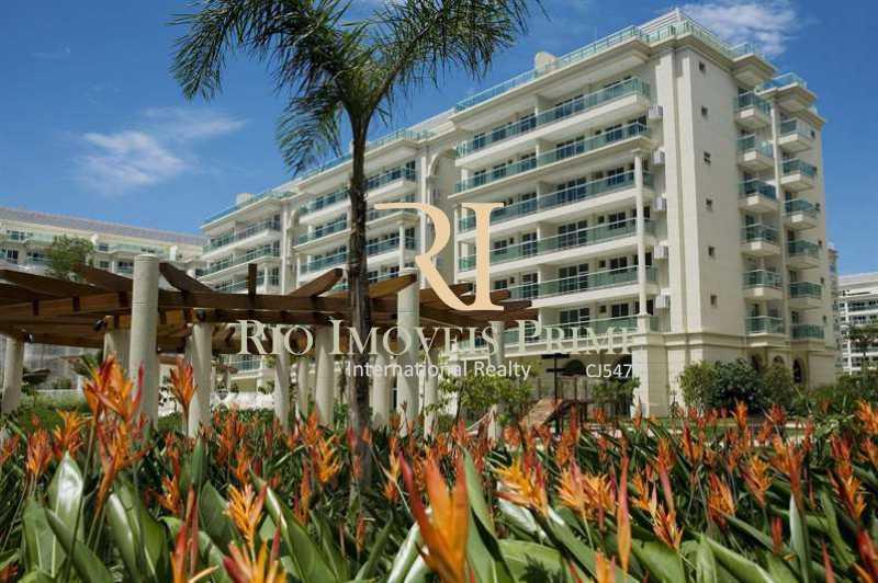 LE PARC - FACHADA - Apartamento À Venda - Barra da Tijuca - Rio de Janeiro - RJ - RPAP40014 - 24