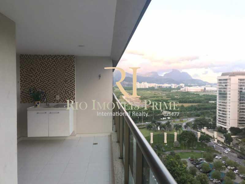 VARANDA - Apartamento 2 quartos à venda Barra Olímpica, Rio de Janeiro - R$ 750.000 - RPAP20097 - 3
