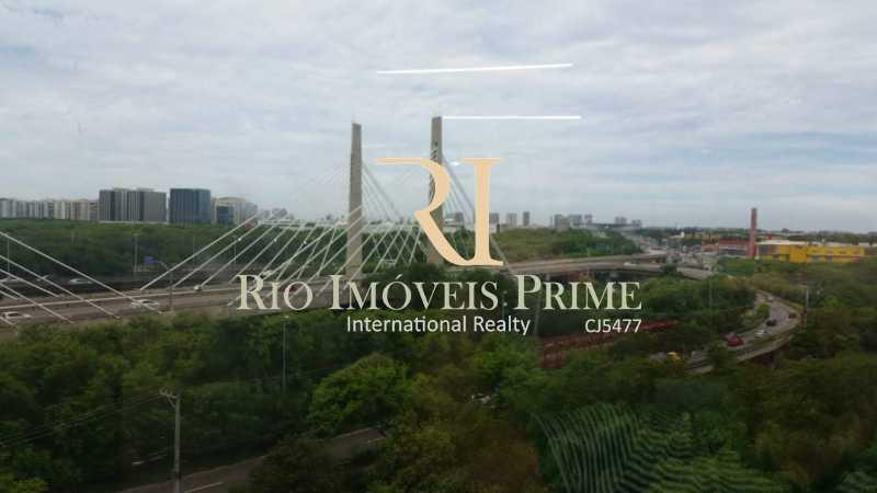 vista da sala - Sala Comercial 34m² à venda Barra Olímpica, Rio de Janeiro - R$ 209.000 - RPSL00007 - 10
