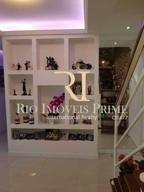 Sala piso inferior - Cobertura 3 quartos à venda Barra Olímpica, Rio de Janeiro - R$ 1.145.000 - RPCO30014 - 6